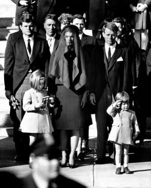 ... Sen. Edward Kennedy, left, and Attorney General Robert Kennedy