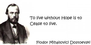 Famous quotes reflections aphorisms - Quotes About Hope - To live ...