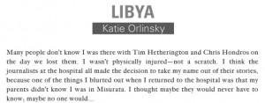 KATIE ORLINSKY | Libya
