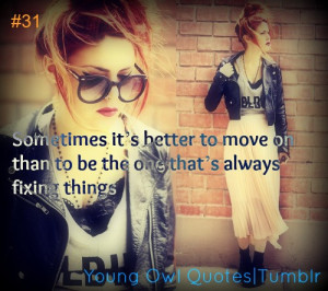 swag girls #quote #move on #red hair #fashion