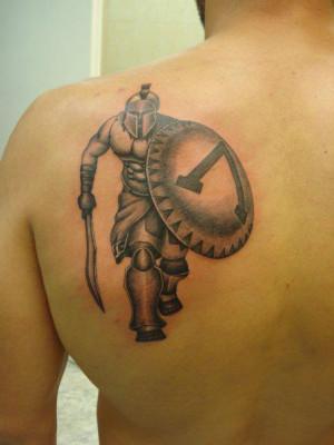 Greek Spartan Warrior Tattoos