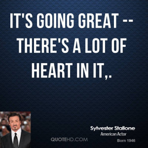 Sylvester Stallone Quote Loyalty