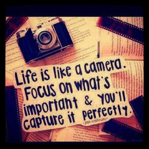 Focus on what's important.