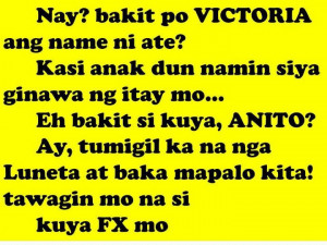 new funny tagalog jokes quotes