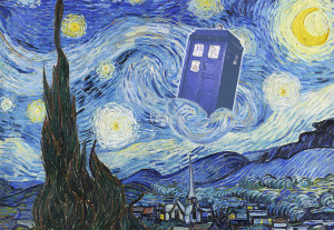 The Doctor Meets Van Gogh's Starry Night - Vincent Van Gogh Meets The ...