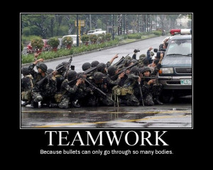 Funny Teamwork Posters