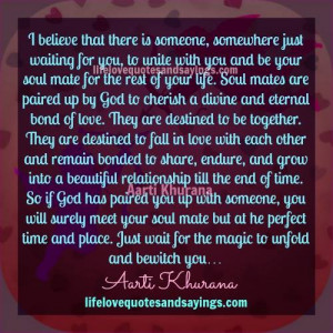 Soul Mates Are Paired Up By God..