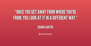 get away quotes source http quotes lifehack org quote deanacarter ...
