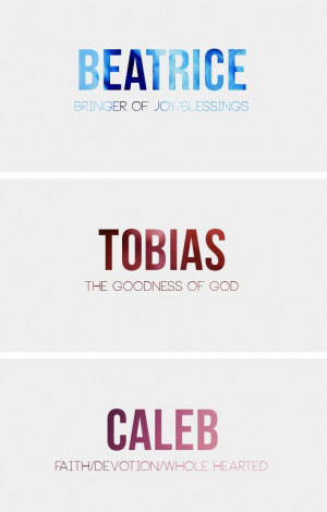 Divergent Characters + Name Meanings (x)