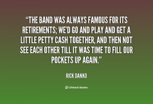 BAND QUOTES AND SAYINGS