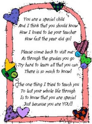 Graduation~Special Child