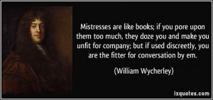 Mistress Quotes