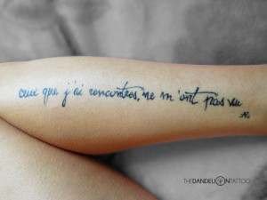 Lovely placement for this quote of French poet Arthur Rimbaud made at ...