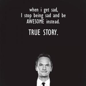 Awesome...Barney Stinson!