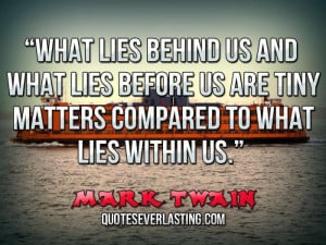 Famous Quotes About Lies