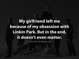 linkin park, funny quote