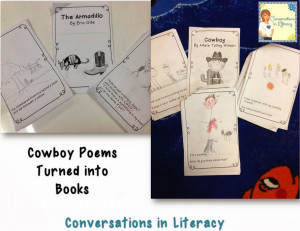 ... illustrate the poems to show me that they were comprehending the poem