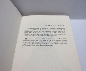Harriet Tubman Primary Sources