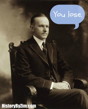 Calvin Coolidge was a man of few words. Upon the sudden death of ...
