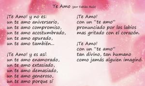 image of love poem in spanish