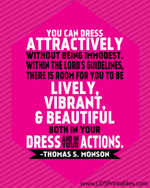 Quotes On Modesty In Dress