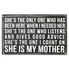 My mother was my best friend and she was always there for me. Those of ...