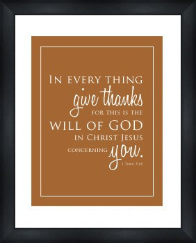 Thanksgiving/Scripture Quote from Cottage in the Oaks