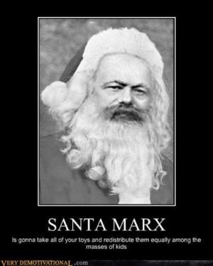 Karl Marx IS Santa Claus