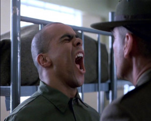 ... , with Lee Ermey, Full Metal Jacket; Directed by Stanley Kubrick