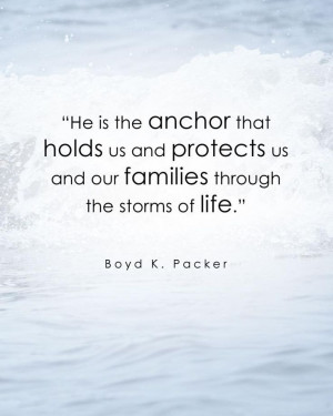LDS General Conference Quote by Boyd K. Packer #LDSconf #April2014 ...