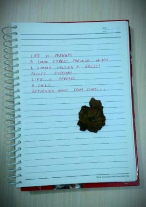 poem by Forough Farrokhzad.