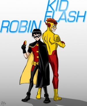 ... Kids Costumes → Boys Costume → Young Justice Robin Kids Costume