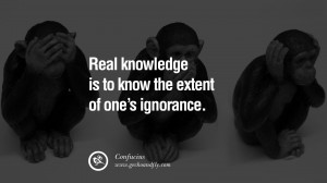 The Struggle Is Real Quotes Real knowledge is to know the