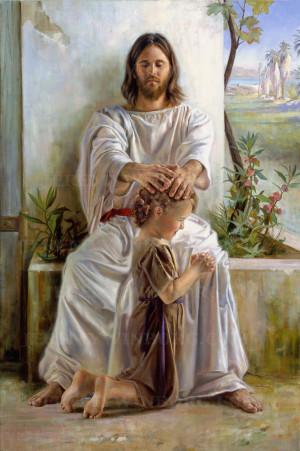 Displaying 20> Images For - Lds Children Praying...