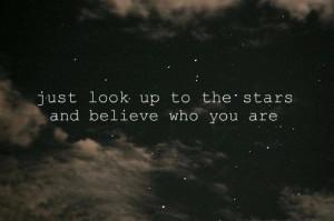 advice, believe, confidence, quote, saying pics, sky, stars