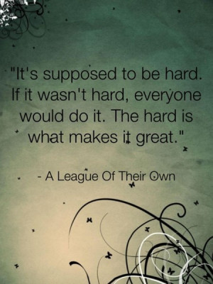 Great quote, motivation