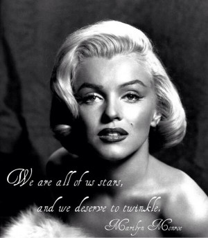 Marilyn Monroe Quote on Acting