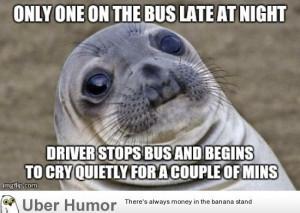 hate public transportation…