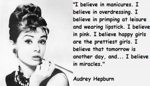 Audrey hepburn famous quotes 1