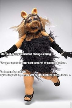 15 Undeniable Style And Beauty Lessons From Miss Piggy. Start out ...