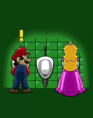 What the ……. is mario saying
