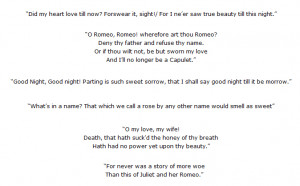 ... and most famous quotes from Romeo and Juliet by William Shakespeare