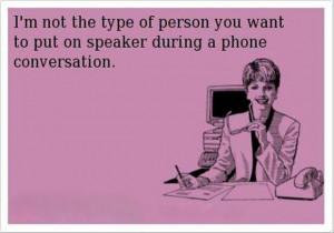 Funny ecard – Phone conversation