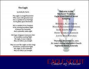 Envelope Seals Eagle Scout