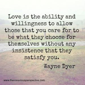 True love. Wayne Dyer. #quote