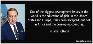 More Harri Holkeri Quotes