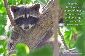 It takes hard work, resourcefulness, perseverance and courage to ...