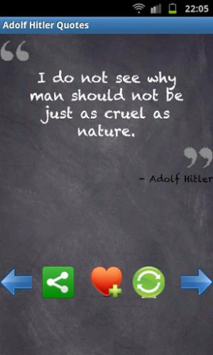 View bigger - Infamous Adolf Hitler Quotes for Android screenshot