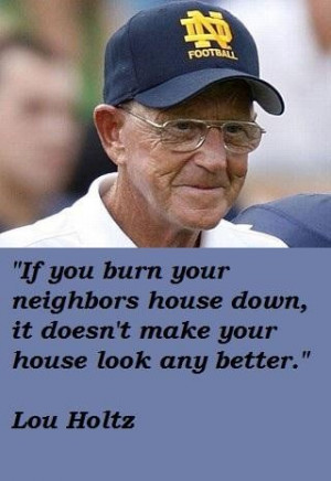 Lou holtz famous quotes 3