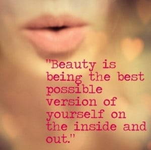 Beauty Is Best Beauty Quotes